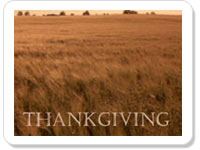 Thanksgiving ecard- Thank For The Bounties